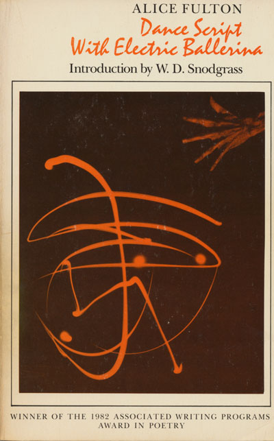 Book Jacket, Dance Script With Electric Ballerina (Pennsylvania)