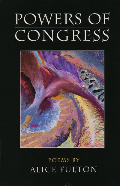 Book Jacket, Powers Of Congress (Godine)