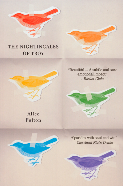 Book Jacket, The Nightingales of Troy